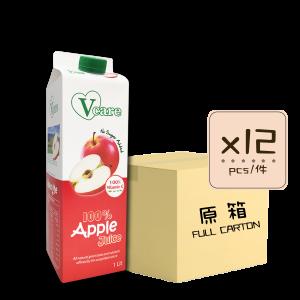 Online Shop Apple Juice x12 300x300 - V-Care – 100% Apple Juice 12x1L (Full Carton)