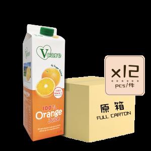 Online Shop Orange Juice x12 300x300 - V-Care – 100% Orange Juice 12x1L (Full Carton)