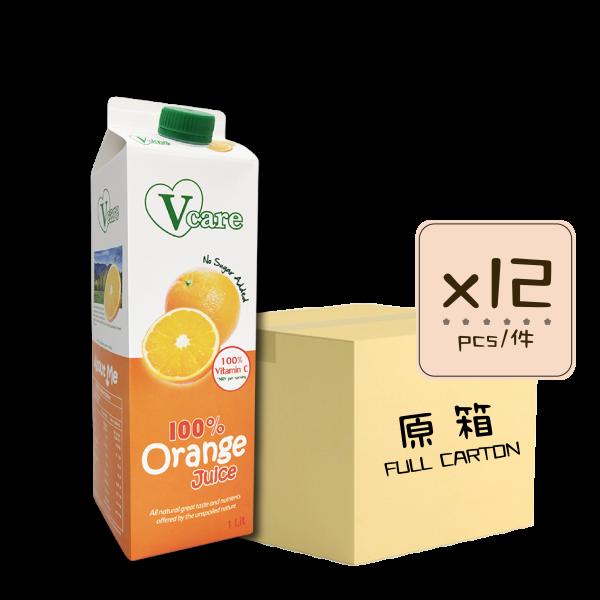 Online Shop Orange Juice x12 600x600 - 嘉心思 – 純橙汁 12x1L (原箱)