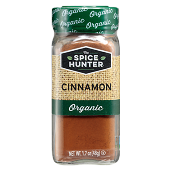 383505 Spice Hunter Organic Ground Cinnamon 有機肉桂粉 - The Spice Hunter – Organic Ground Cinnamon 6x1.7oz (Full Carton)
