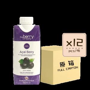 Online Shop Acai Berry 330ml x12 300x300 - The Berry Company – 巴西莓汁 12x330mL (原箱)