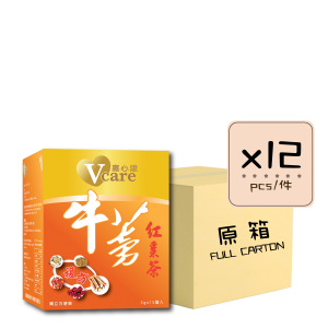 Online Shop Burdock x12 300x300 - V-Care – Burdock & Red Date Tea 12x15's (Full Carton)