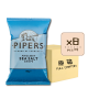 Online Shop Pipers 2018 Anglesey Sea Salt 150g x8 80x80 - Pipers Crisps - 黑椒海鹽味薯片 8x150g (原箱)