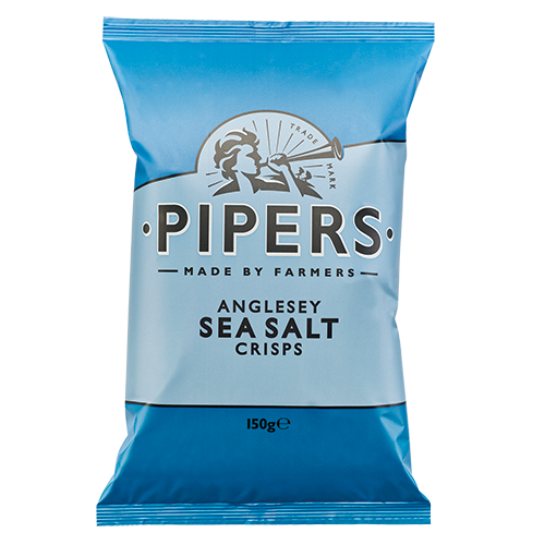 PIPERS Anglesey Sea Salt 150g blue 500x500 - Pipers Crisps - 海鹽味手製薯片 8x150g (原箱)