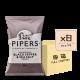 Online Shop Pipers 2018 Black Pepper Sea Salt 150g x8 80x80 - Pipers Crisps - 車打芝士洋蔥味薯片 8x150g (原箱)
