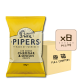 Online Shop Pipers 2018 Cheddar Onion 150g x8 80x80 - Pipers Crisps - 黑椒海鹽味薯片 8x150g (原箱)