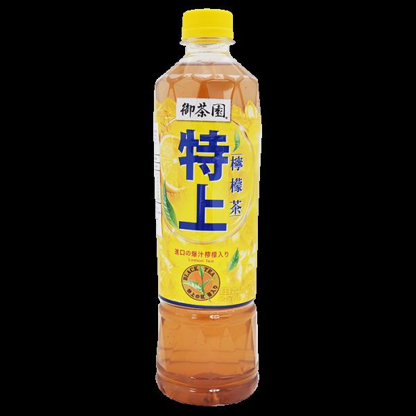 御茶園特上檸檬茶550ml 1front 600x600 - 御茶園特上檸檬茶 24 x 550毫升 (原箱)