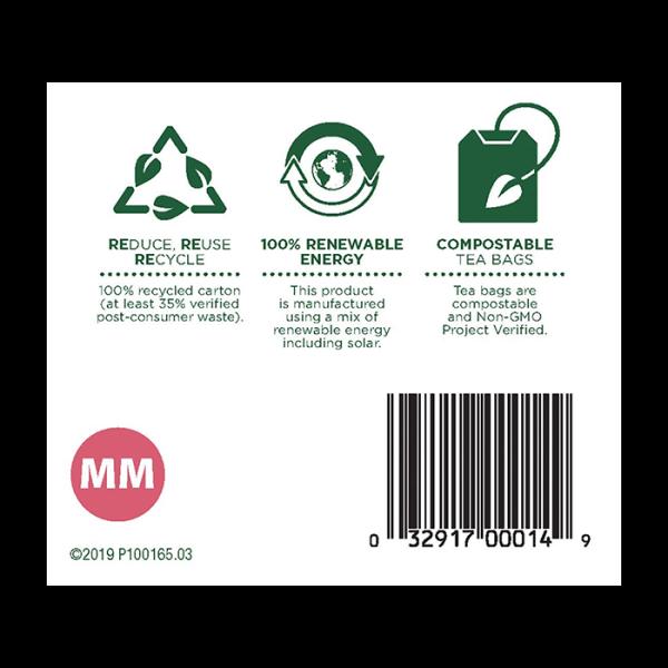 Mothers Milk 有機催乳茶 6barcode 600x600 - Organic Mother's Milk 6x16's (Full Carton)