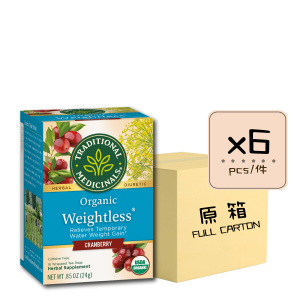 Online Shop Weightless Cranberry 有機小紅莓去水腫茶 x6 300x300 - Organic Weightless Cranberry 6x16's (Full Carton)