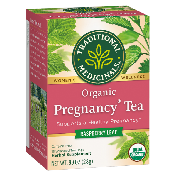 Pregnancy Tea 有機孕期調理茶 1face 600x600 - Organic Pregnancy Tea 2x16's