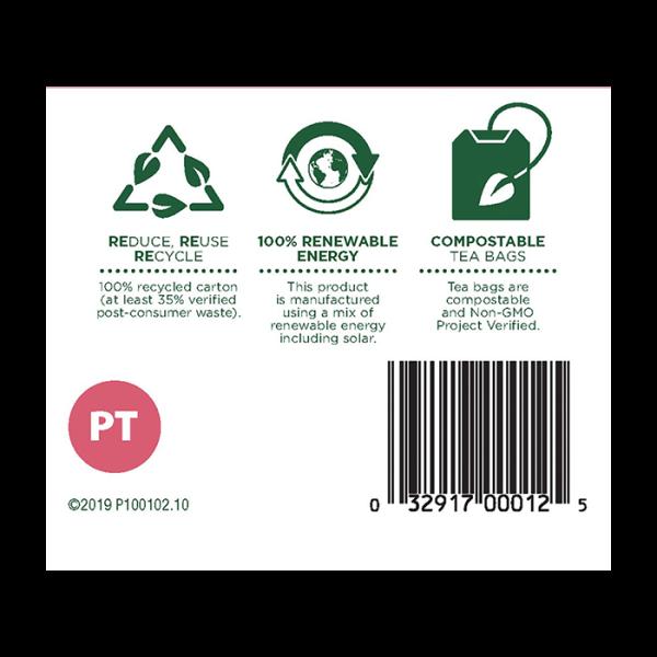 Pregnancy Tea 有機孕期調理茶 6barcode 600x600 - Organic Pregnancy Tea 2x16's