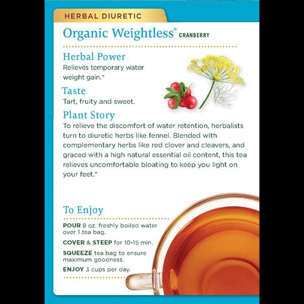 Weightless Cranberry 有機小紅莓去水腫茶 2back 600x600 - 有機小紅莓去水腫茶 2×16's