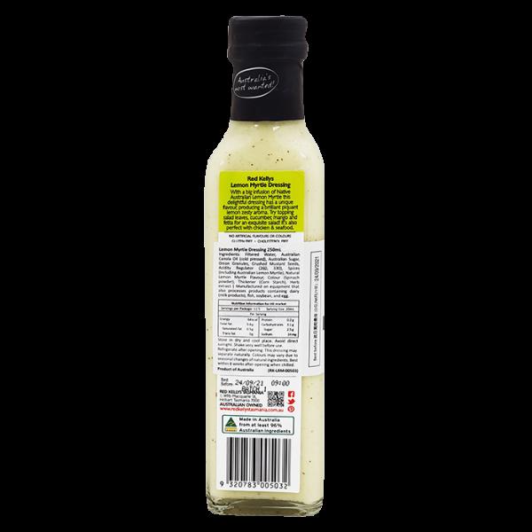 RK LemonMyrtle 2back 600x600 - 檸檬香桃木醬 2x250mL
