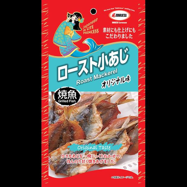 3.MLite Roast Mackerel front 600x600 - 原味燒鯖魚  15x25g (原箱)