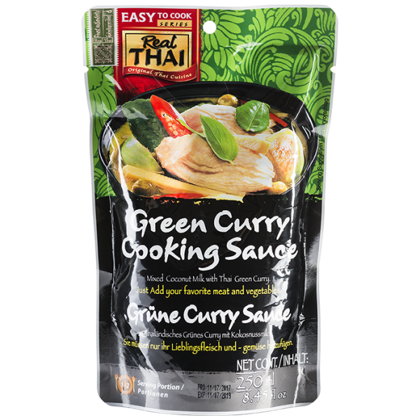 Green Curry Cooking Sauce 250mL 700 600x600 - Green Curry Cooking Sauce 10x250mL (Full Carton)