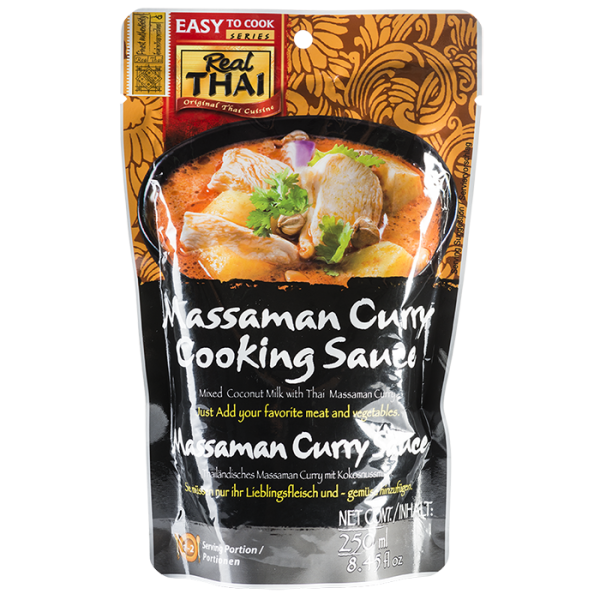 Massaman Curry Cooking Sauce 250mL 700 600x600 - Massaman Curry Cooking Sauce 10x250mL (Full Carton)