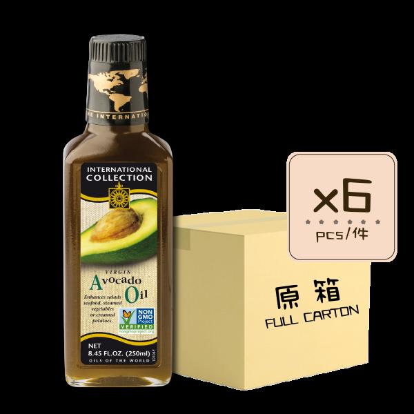 Online Shop IC Avocado 250ml bottle x6 600x600 - 初榨冷壓牛油果油(原箱6瓶)