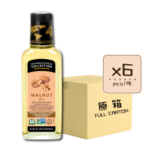 Online Shop IC SN Walnut 250ml x6 300x300 - 核桃油 6x250mL (原箱)