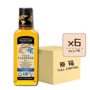 Online Shop IC SPEC Flaxseed 250ml x6 300x300 - Virgin Flax seed oil 6x250mL (Full Carton)