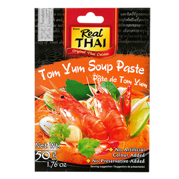 Tom Yum Soup Paste front 600x600 - 泰式冬蔭功醬 12x50g (原箱)