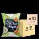Online Shop Rice Cracker Chips Sour Cream x10 80x80 - 海鹽味薄脆米餅 10x90g (原箱)