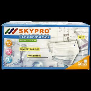 skypro classic 01face 300x300 - Skypro 三層外科口罩 (成人)