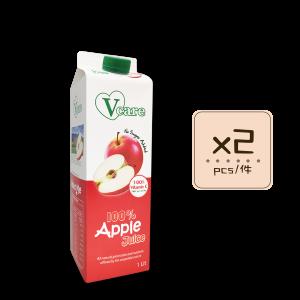 Online Shop Apple Juice x2 300x300 - V-Care – 100% Apple Juice 2x1L