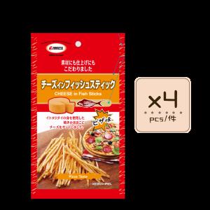 Online Shop MLite Pizza Fish Stick x2 300x300 - 薄餅味芝士魚絲 4x20g