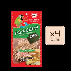 Online Shop MLite seaweed Fish Stick x4 300x300 - 海苔味芝士魚絲 4x20g
