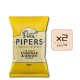 Online Shop Pipers 2018 Cheddar Onion 150g x2 80x80 - Pipers Crisps - 蘋果醋海鹽味薯片 2x150g