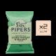 Online Shop Pipers 2018 Cider Vinegar Sea Salt 150g x2 80x80 - Pipers Crisps - 甜紅椒味薯片 2x150g