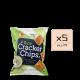 Online Shop Rice Cracker Chips Sour Cream x10 1 80x80 - 黑胡椒薄脆米餅 5x90g