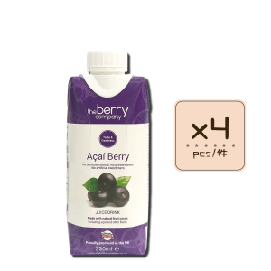 Online Shop Acai Berry 330ml x4 300x300 - The Berry Company – 巴西莓汁 4x330mL
