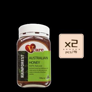 Online Shop Rainforest x2 300x300 - V-Care – Rainforest Honey 2x500g