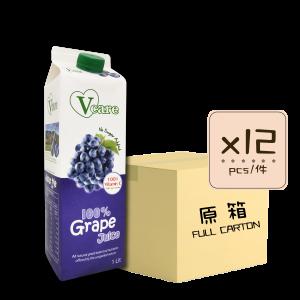 Online Shop Grape Juice x12 300x300 - V-Care – 100% Grape Juice 12x1L (Full Carton)