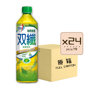每朝健康双纖綠茶x24 300x300 - Every Morning Healthy Dual Fiber Green Tea 24x650mL (Full Carton)