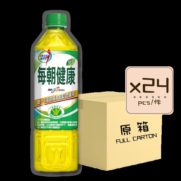 每朝健康綠茶x24 600x600 - 每朝健康綠茶 24x650mL (原箱)