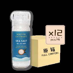 1Sea Salt 12p 300x300 - Ancient Sea Salt Coarse Grain grinder 12x120g (Full Carton)