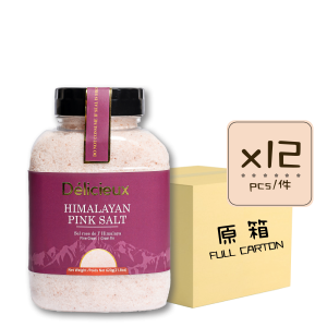2Himalayan Pink Salt 620 12p 300x300 - 喜馬拉雅山粉紅岩鹽 12x620克 (原箱)