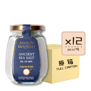Sea Salt Coarse Grain 12p 300x300 - Ancient Sea Salt Coarse Grain 12x215g (Full Carton)