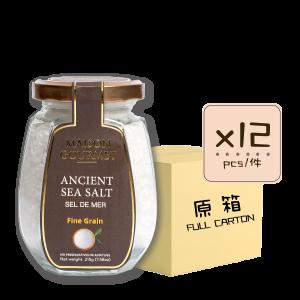 Sea Salt Fine Grain 12p 300x300 - Ancient Sea Salt Fine Grain 12x215g (Full Carton)