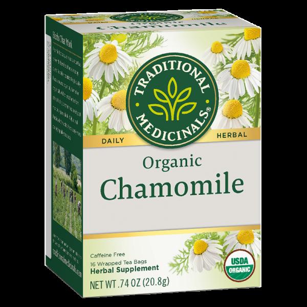 Chamomile 2 600x600 - 有機洋甘菊茶 6x16's (原箱)