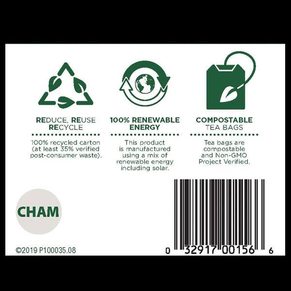 Chamomile bottom 600x600 - 有機洋甘菊茶 6x16's (原箱)