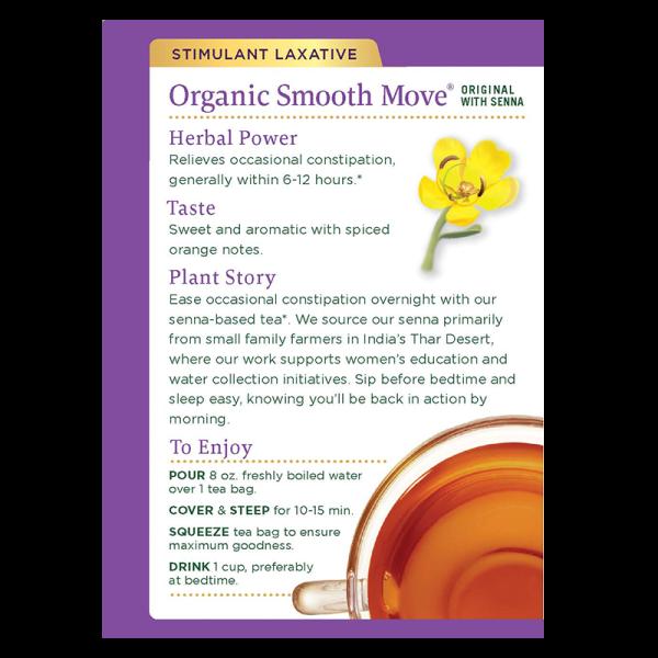 Smooth Move back 600x600 - Organic Smooth Move 2x16's