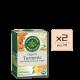 Turmeric with Meadowsweet Ginger 2pcs 80x80 - 有機洋甘菊茶 6x16's (原箱)