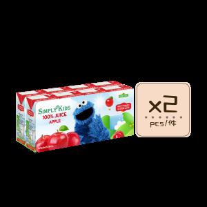 Apple Juice x2pcs 300x300 - Sesame Street 100% Apple Juice 2x(8x125mL)